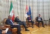 دیدار ظریف با نخست وزیر صربستان