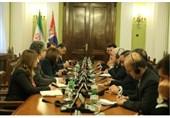 دیدار ظریف با رئیس مجلس صربستان/ سفر لاریجانی به بلگراد در سال جاری میلادی
