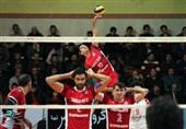 لیگ برتر والیبال  شکست خانگی شهرداری تبریز مقابل خاتم اردکان