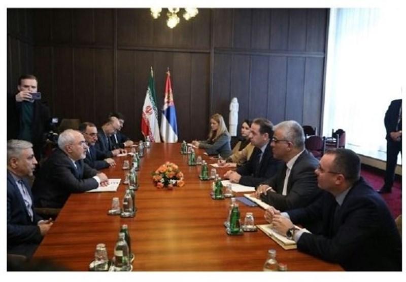 دیدار ظریف با معاون نخست وزیر صربستان