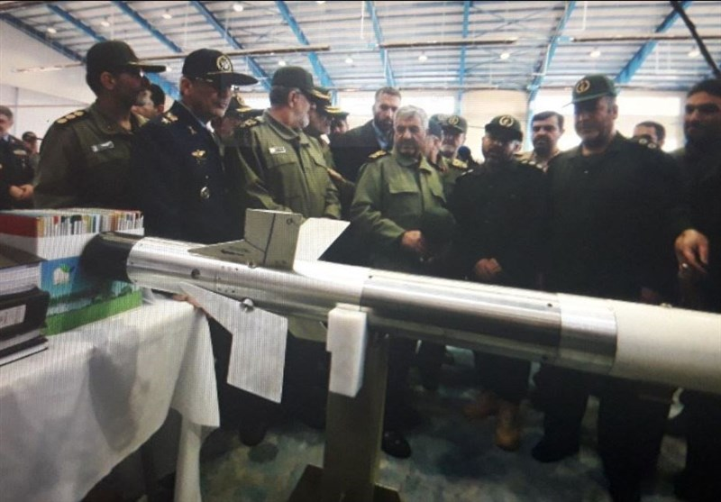 IRGC Unveils New Anti-Armor Missile, Other Military Gears