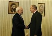 دیدار ظریف با رئیس جمهور بلغارستان