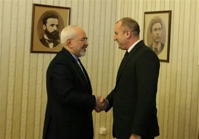 Iran's Top Diplomat, Bulgarian President Discuss Closer Ties
