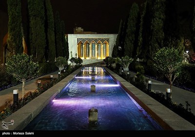 Tomb of Iranian Poet Saib Tabrizi in Isfahan
