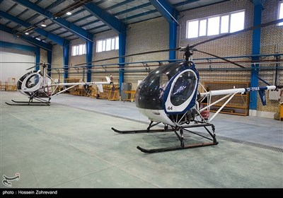 آشیانه بالگردهای هوانیروز سپاه پاسداران انقلاب اسلامی