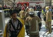 انفجار مغازه عرضه مواد شیمیایی در ناصرخسرو