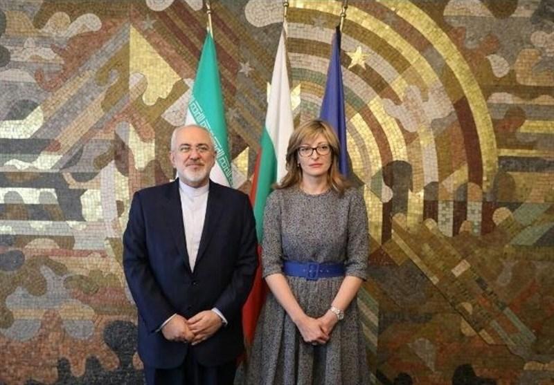 دیدار ظریف با وزیر خارجه بلغارستان