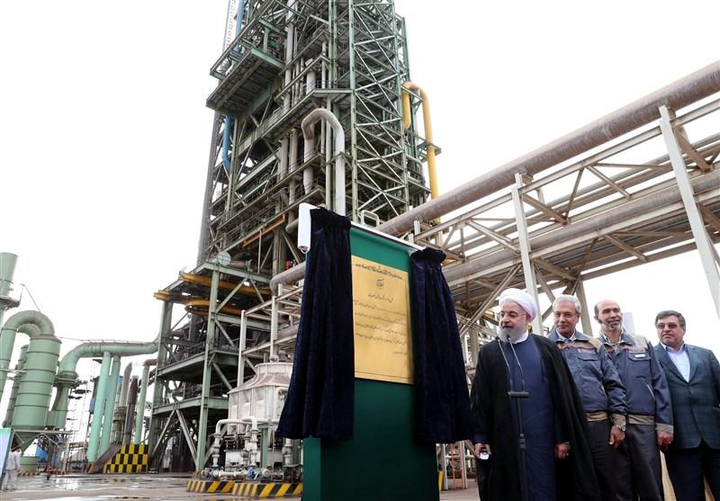 بندرعباس| افتتاح نخستین کارخانه بریکت گرم ایران در مجتمع صبا فولاد خلیج فارس