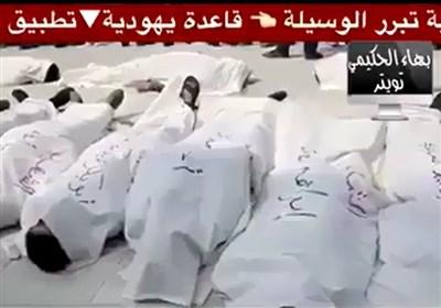 حشد الشعبی کے ہاتھوں داعش اور النصرہ کا پروپیگنڈا بے نقاب