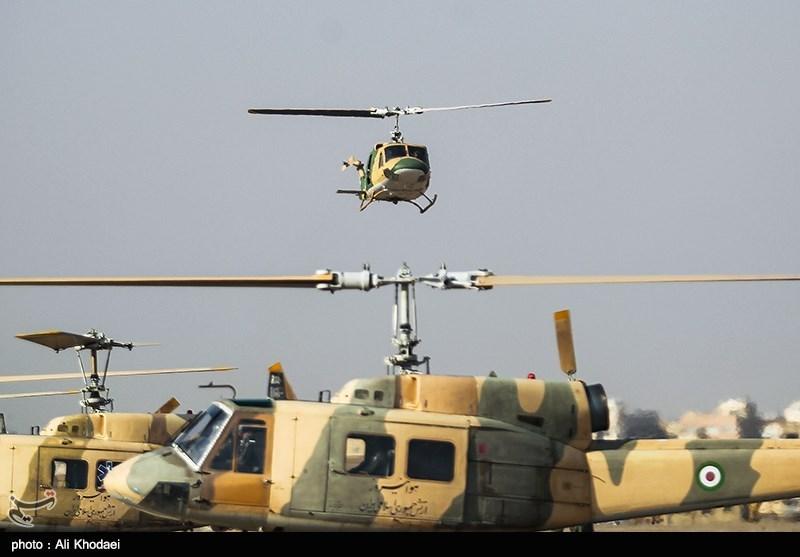 Iran Army Unveils New Chopper Gear