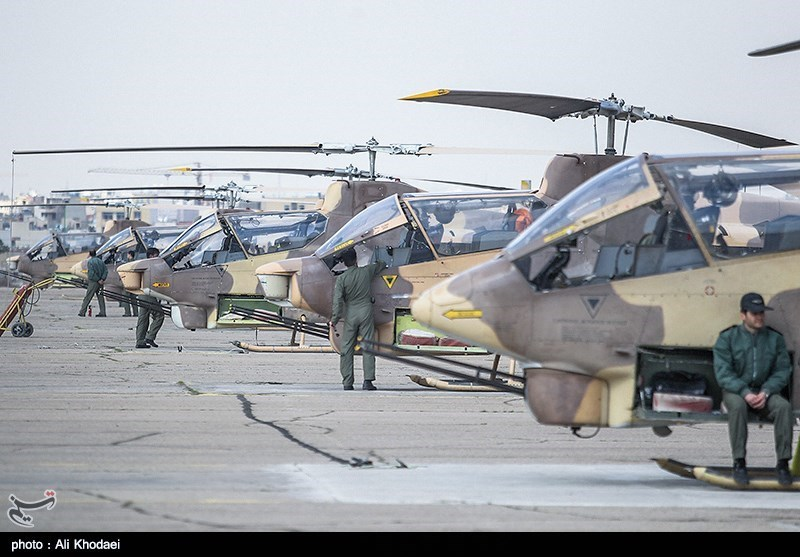 Image result for Iran Army unveils new chopper gear