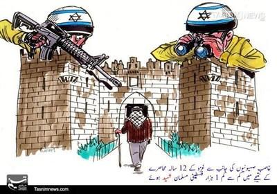 """1 ہزار فلسطینیوں کی شہادت پر منتج """"غزہ کا محاصرہ"""""""