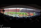 وزیر ارتباطات همزمان با اینفانتینو به ورزشگاه آزادی رفت + عکس