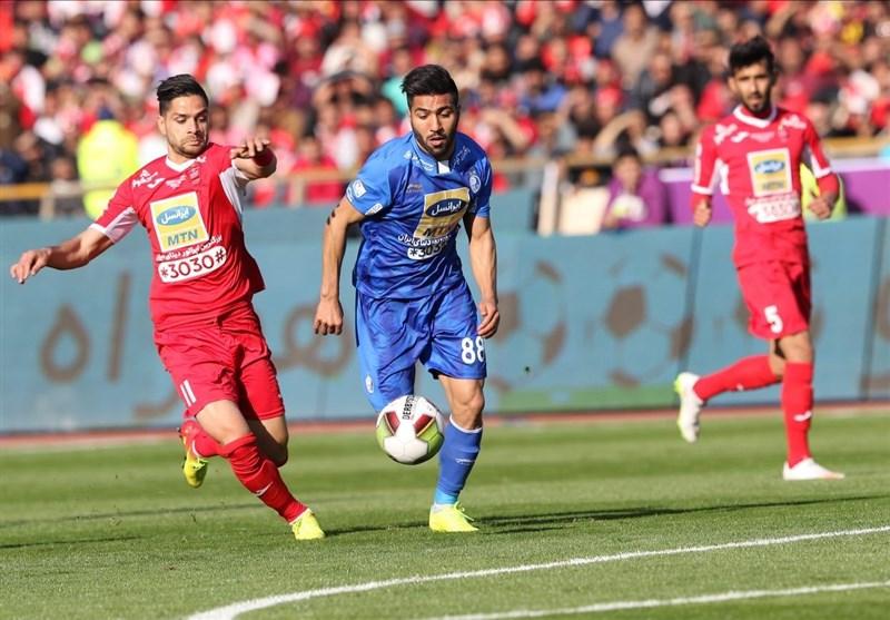 Iran Professional League: Esteghlal Edges Persepolis (+Photos)