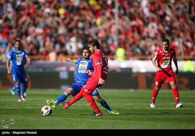 بالصور.. الدیربی الـ 86 بین استقلال وبرسبولیس ینتهی بفوز استقلال