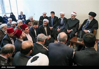 امام خامنہ ای کا علماء و وزیر اوقاف شام سے اہم خطاب