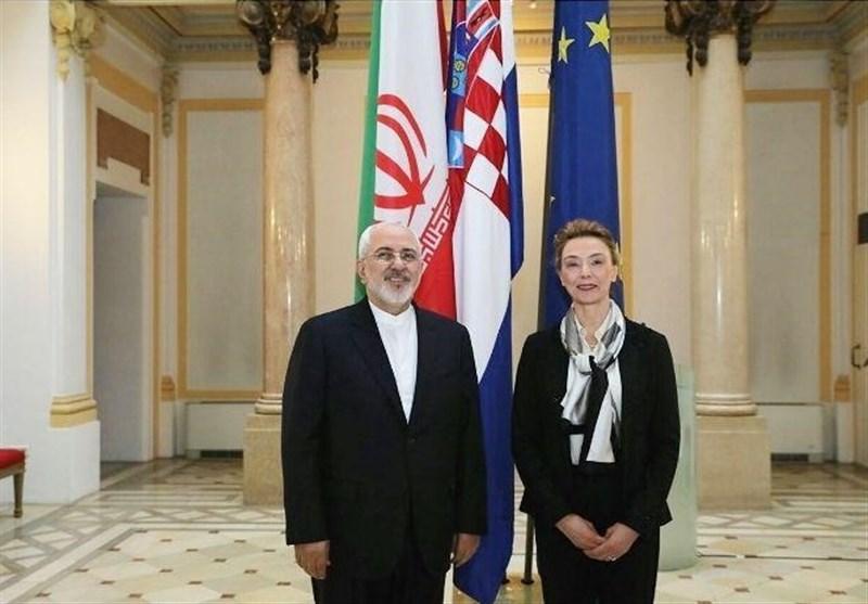 Iranian, Croatian Top Diplomats Discuss Bilateral Ties