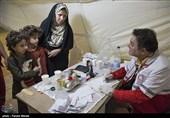 300 نفر از اهالی شرفآباد کرمان ویزیت رایگان شدند