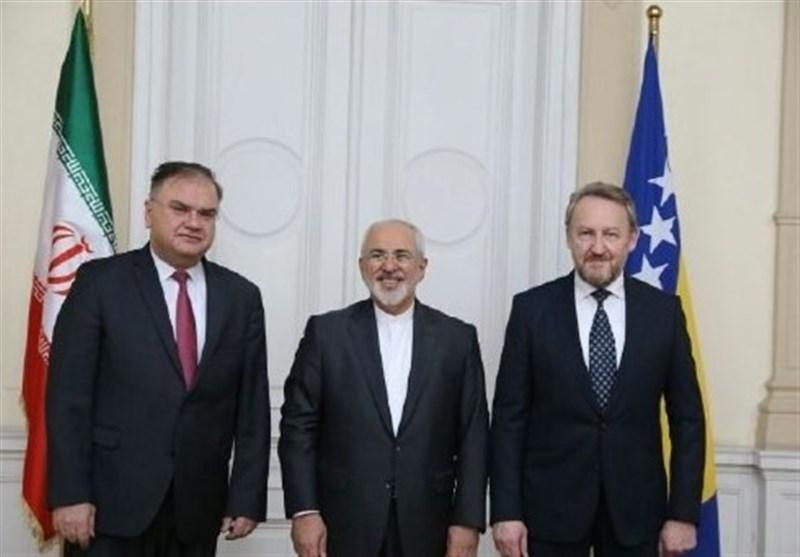 ظریف: ایران میتواند تامین کننده مطمئن انرژی بوسنی باشد