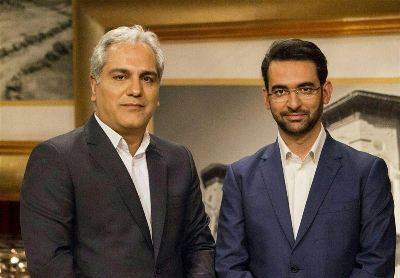 """""""دورهمی"""" مهران مدیری با وزیر جوان ارتباطات"""