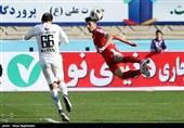 لیگ برتر فوتبال  پیروزی پدیده، نساجی و پیکان در نیمه نخست