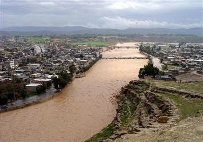روستاهای مسیر رودخانه کشکان در پلدختر تخلیه شدند