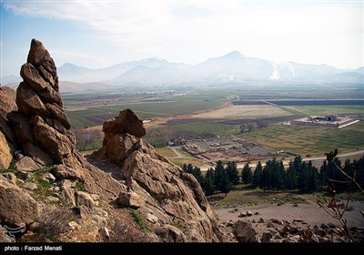 مجموعه تاریخی بیستون - کرمانشاه
