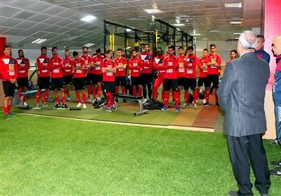 درخواست گرشاسبی از بازیکنان پرسپولیس در دبی