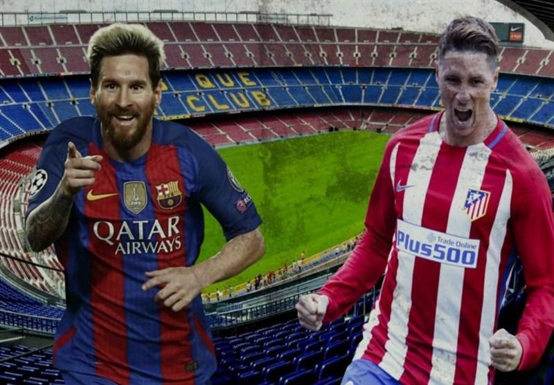 فیلم/فناوری ویدیو چک در تمرین تیم بارسلونا