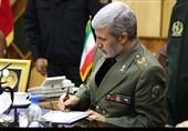 پیام تبریک وزیر دفاع به سرلشکر سلیمانی