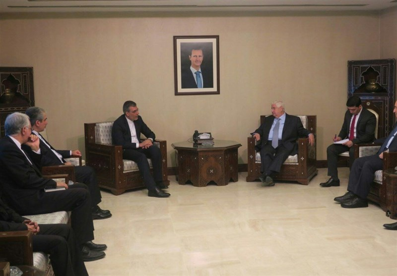 Iranian, Syrian Officials Discuss Peace Process, Upcoming Geneva Talks