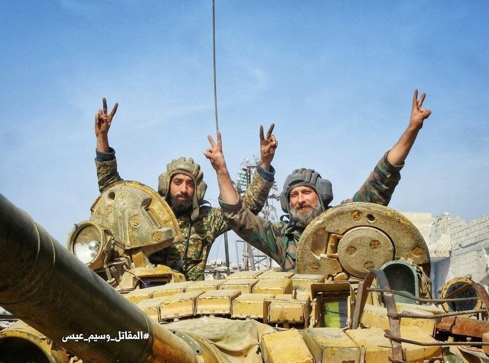 آزادسازی 70 درصد از مناطق غوطه شرقی از لوث تروریست ها