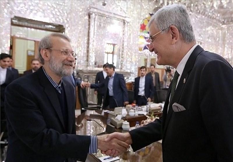 Iran, Turkey Steadfast in Combating Terrorism: Speaker Larijani