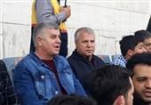 حاشیه دیدار سایپا - نفت مسجدسلیمان| حضور علی پروین در ورزشگاه پاس قوامین و خوشوبش دایی و مرزبان + تصاویر