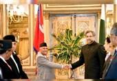 سفر نخست وزیر پاکستان به نپال