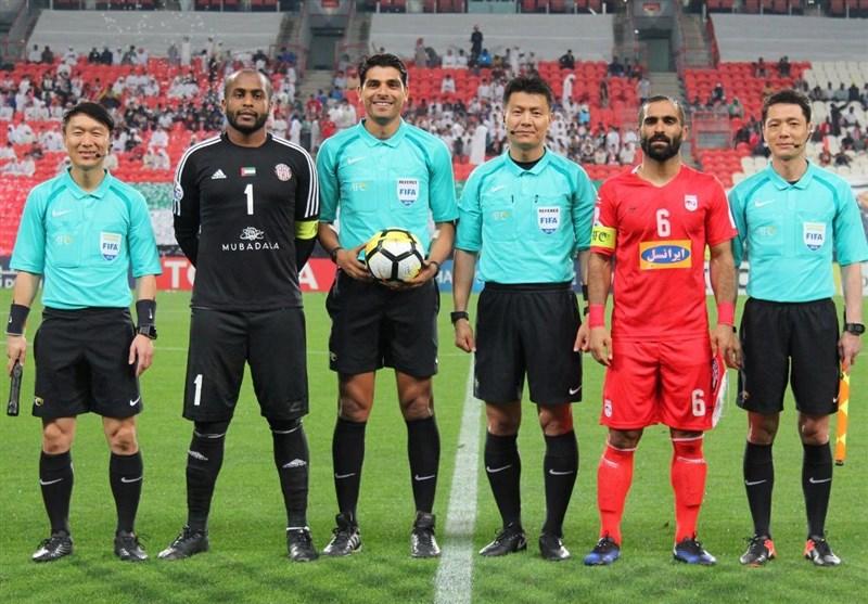 سوت بازی تراکتورسازی - الجزیره امارات به داور چینی رسید