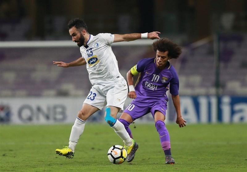 لیگ قهرمانان آسیا| تساوی استقلال و العین؛ داور بازی را برای نماینده امارات در آورد