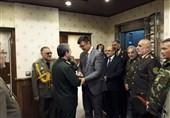 استقبال مساعد وزیر الدفاع الافغانی فی مقر قیادة ارکان القوات المسلحة الایرانیة + صور