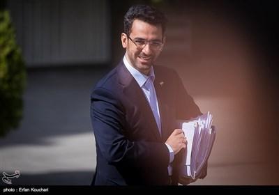 محمدجواد آذری جهرمی وزیر ارتباطات در حاشیه جلسه هیئت دولت