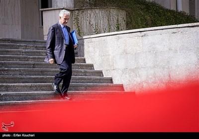 منصور غلامی وزیر علوم تحقیقات در حاشیه جلسه هیئت دولت