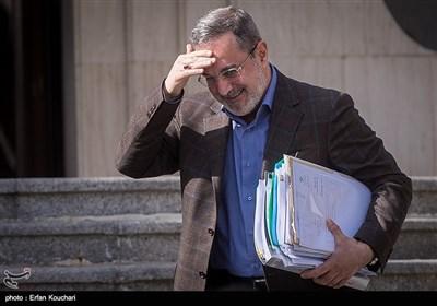 سیدمحمد بطحائی وزیر آموزش و پرورش در حاشیه جلسه هیئت دولت