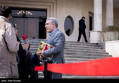 علیاصغر مونسان رئیس سازمان میراث فرهنگی صنایعدستی و گردشگری در حاشیه جلسه هیئت دولت