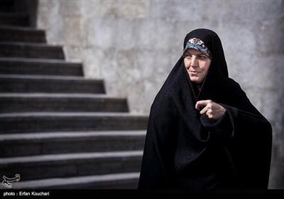 شهیندخت ملاوردی دستیار رئیس جمهور در امور شهروندی در حاشیه جلسه هیئت دولت