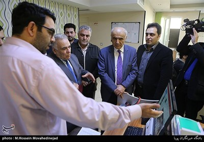 بازدید آرتاشس تومانیان سفیر ارمنستان از تحریریه باشگاه خبرنگاران پویا
