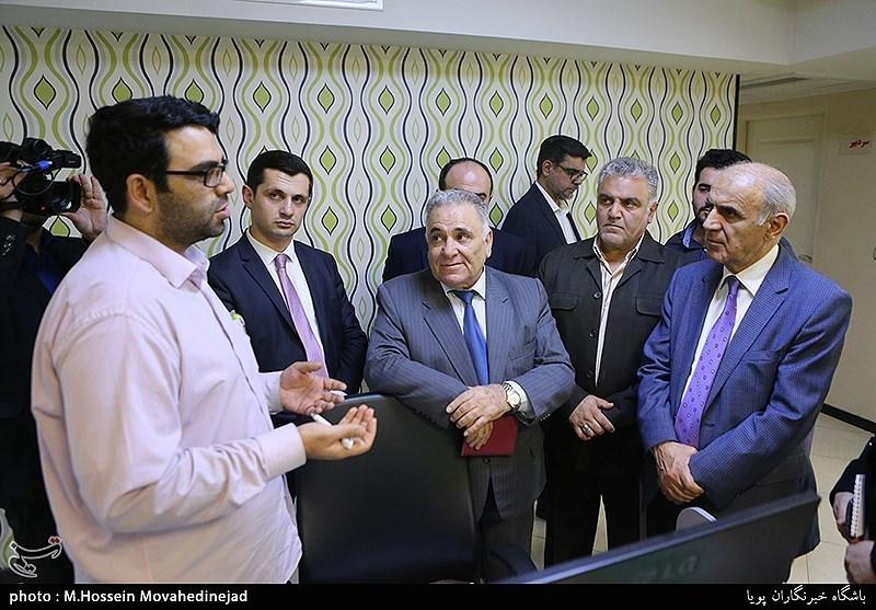 آرمینی سفیر کا تسنیم نیوز ایجنسی کے دفتر کا دورہ + تصاویر
