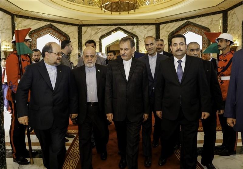 جهانغیری: إیران تتطلع الی ترسیخ علاقات شاملة مع العراق