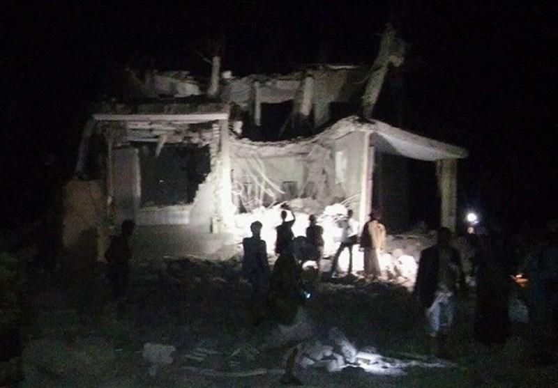 تشدید حملات ائتلاف سعودی به صنعا در آستانه تشییع پیکر شهید الصماد