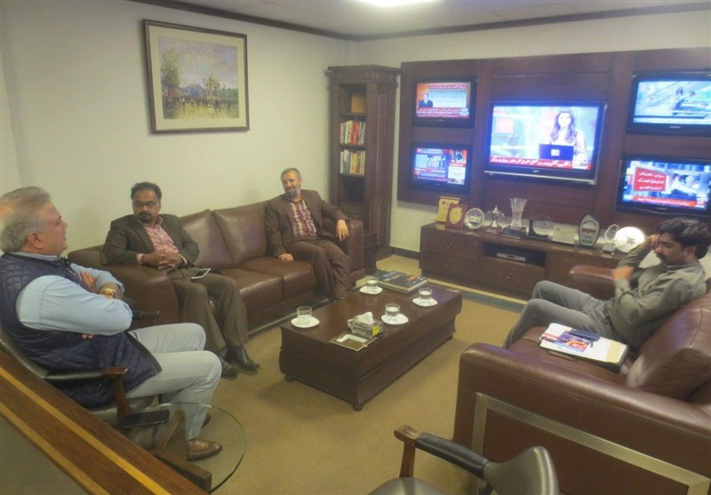 اسلام آباد | ڈائریکٹر تسنیم نیوز اردو سروس کی ایڈیٹر انچیف آن لائن نیوز انٹرنیشنل سے ملاقات + تصاویر