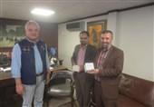 دیدار مسئولین بخش اردوی تسنیم با مدیرعامل خبرگزاری آنلاین نیوز پاکستان+تصاویر