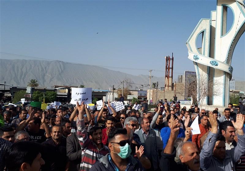 شیراز| استاندار فارس: تجمعها در کازرون غیرقانونی است
